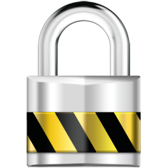 Lock icon for Client Portal